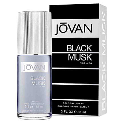 Jovan Black Musk Cologne For Men- 90 ML