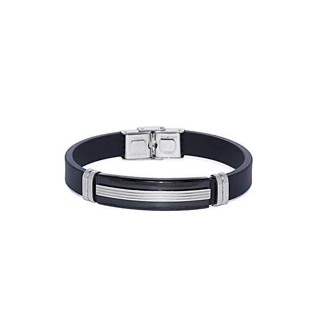 Titanium Steel Mens Bracelet