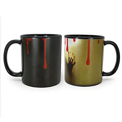 Colour Changing Ghost Mug