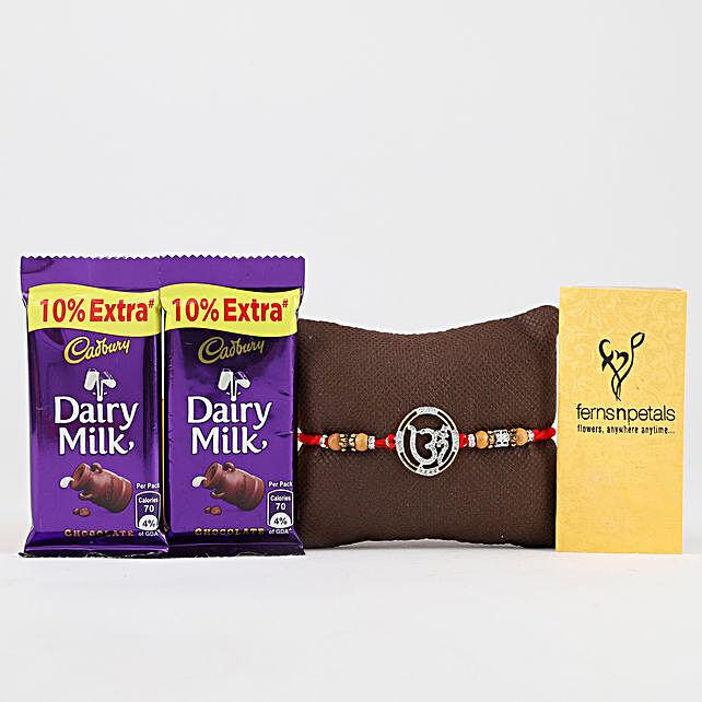 Premium Om Rakhi & Dairy Milk