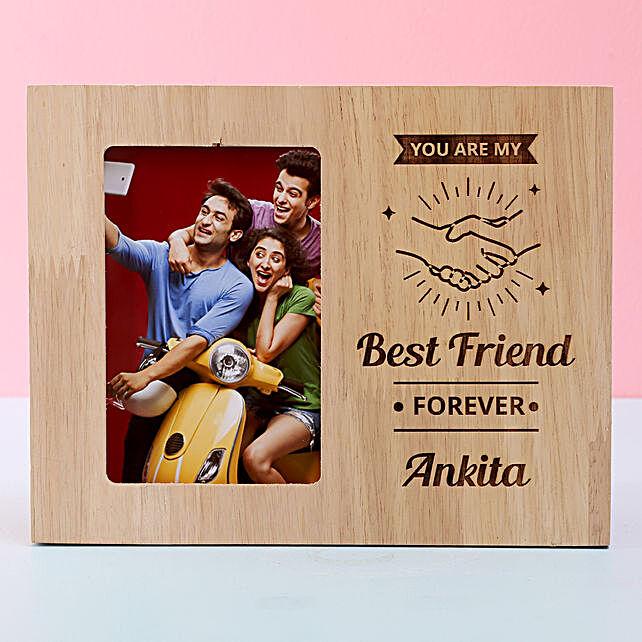 customised wooden frame for him