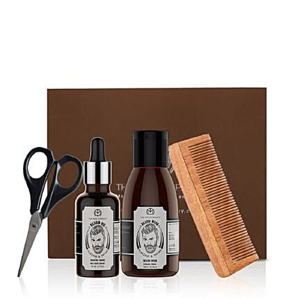 beard care kit for man