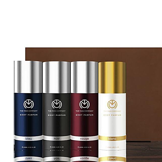 The Man Company Set of 4 Body Perfume