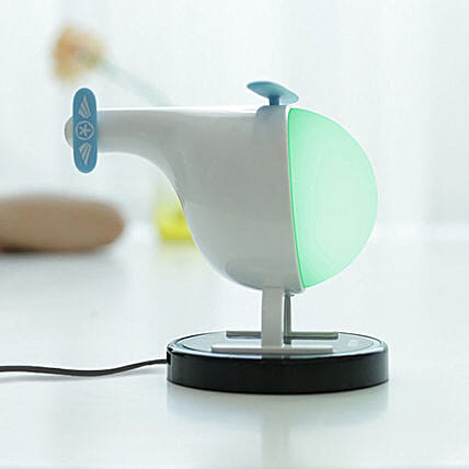 Helicopter shape night lamp