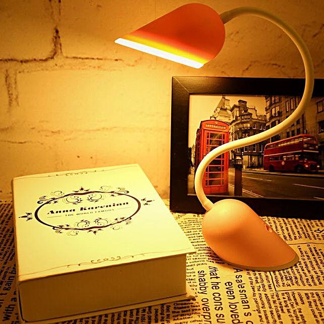 Twistable Heart Lock LED Lamp