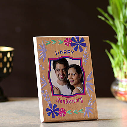 Online Personalised Anniversary Wishes Plaque