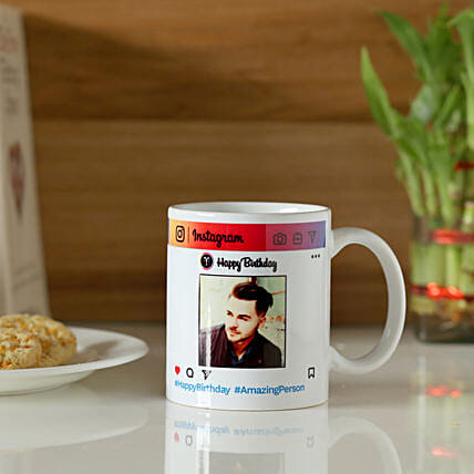 Instagram Birthday Mug Online