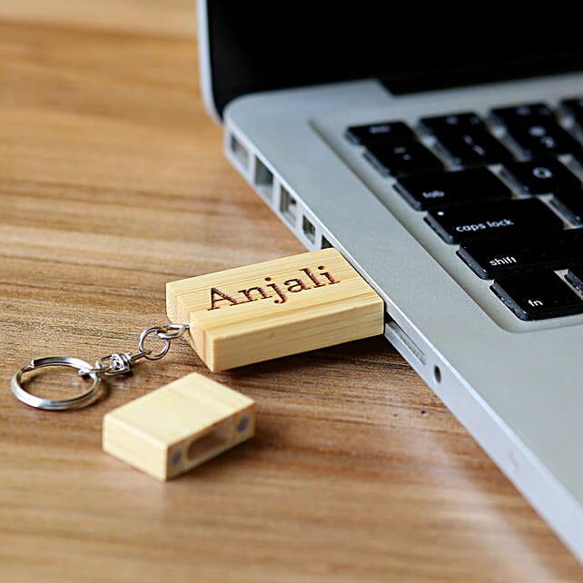 Personalised Keychain Pendrive