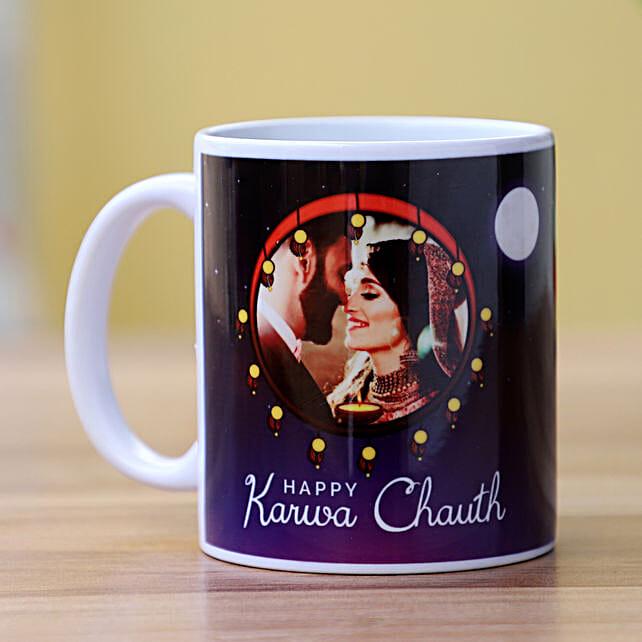 Romantic Karwa Chauth Personalised Mug