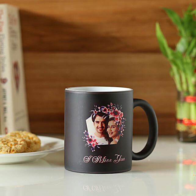 Miss You Personalised Magic Mug