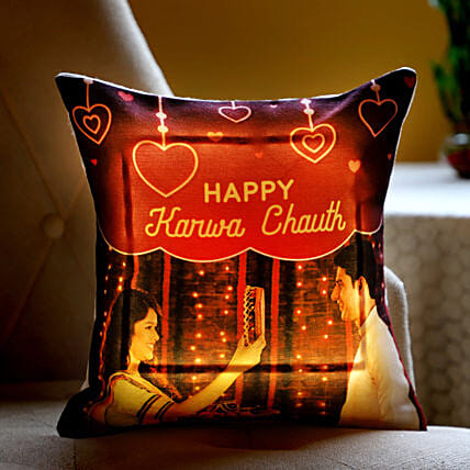Cushion with Light for Wife Online