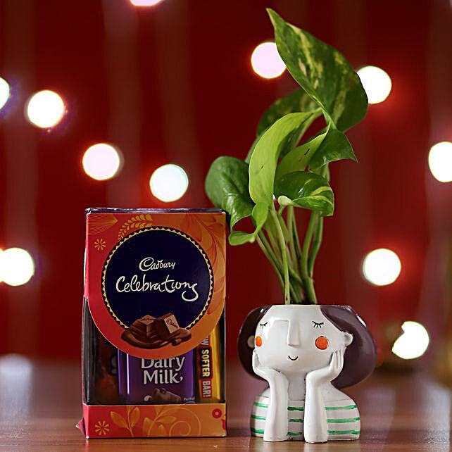 Money Plant & Cadbury Celebrations