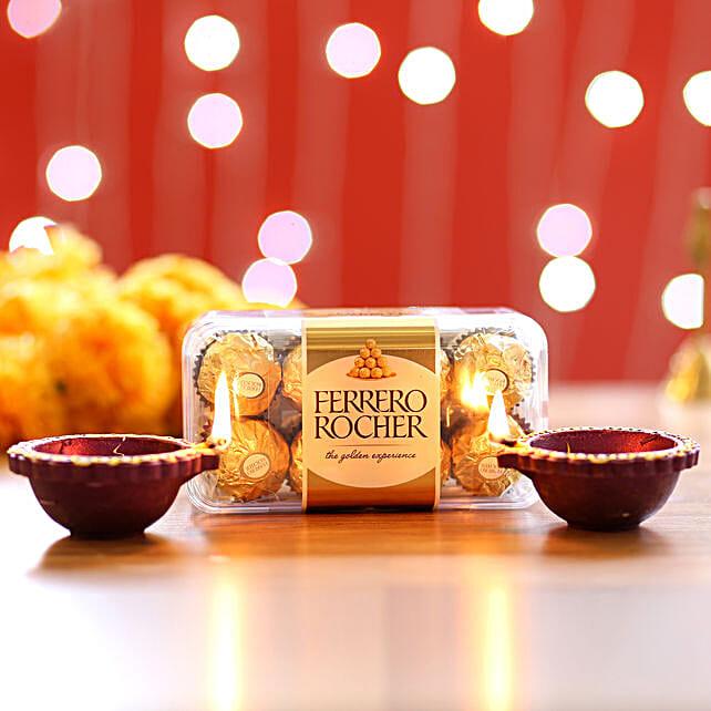 Diwali Diyas and Premium Chocolates Online