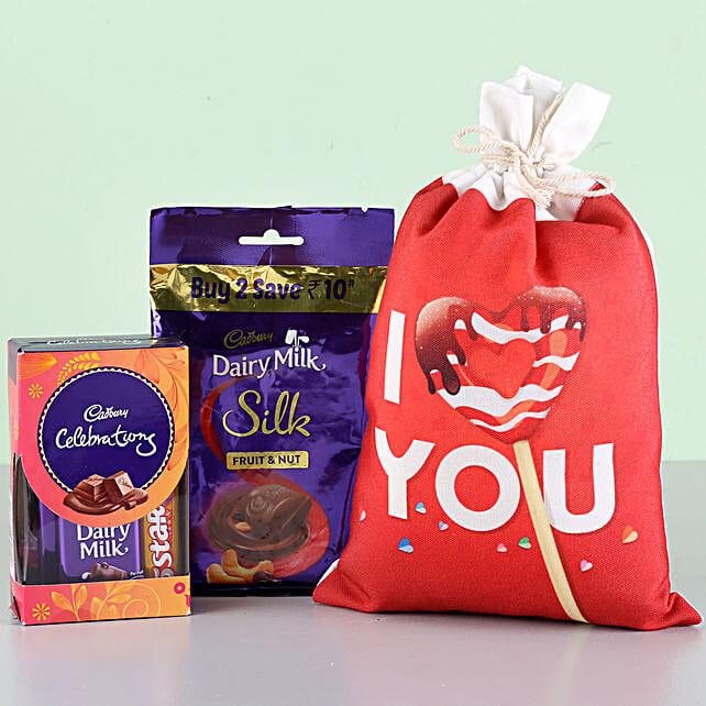I Love You Cadbury Combo