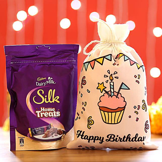 Silk Home Treats & Birthday Gunny Bags