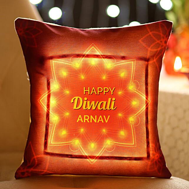 Customised Diwali Cushion Online