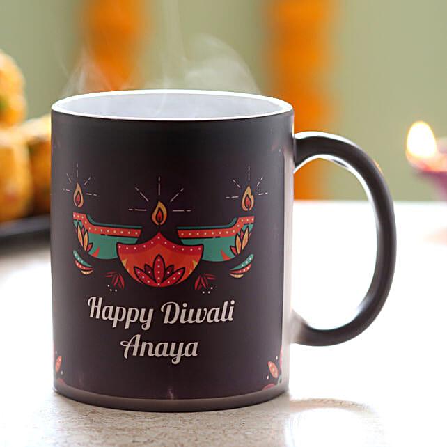 Diwali Wish Printed Mug Online