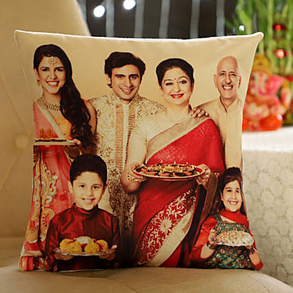Photo Cushion for Family