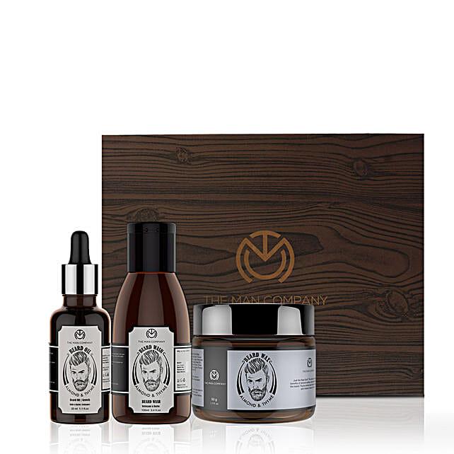 Beard Grooming Kit for Men:The Man Company Beard Styling Gift Sets