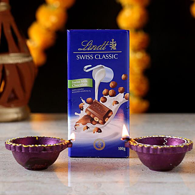 Lindt Swiss Chocolate With Diyas