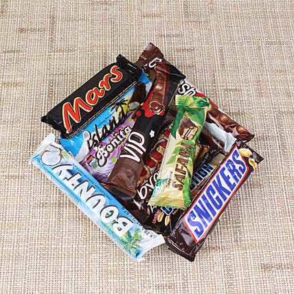 Bunch of Chocolate Bars Online