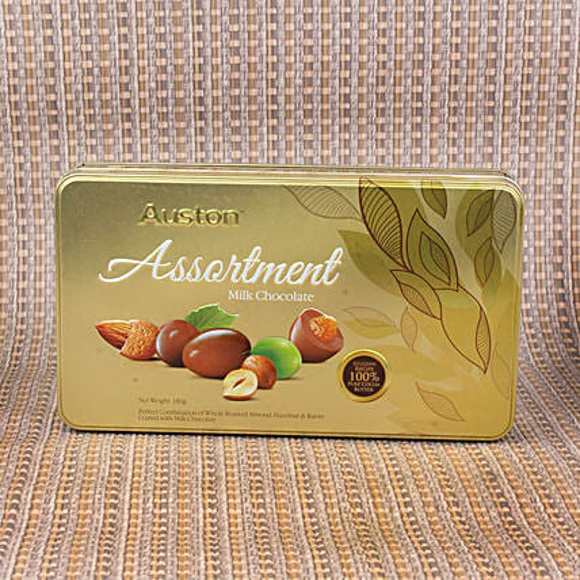 Premium Chocolate Coated Dry Fruit Box
