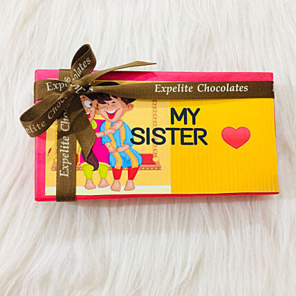 Personalised Chocolate Box for Sister Online