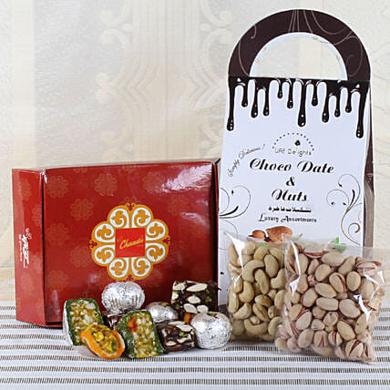 Sweets and Dry Fruits Combo Online