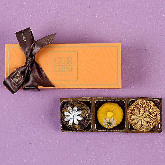 Delightful Mithai Orange Box 250 gms