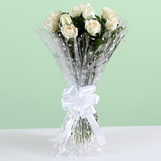 White Rose Bouquet Online