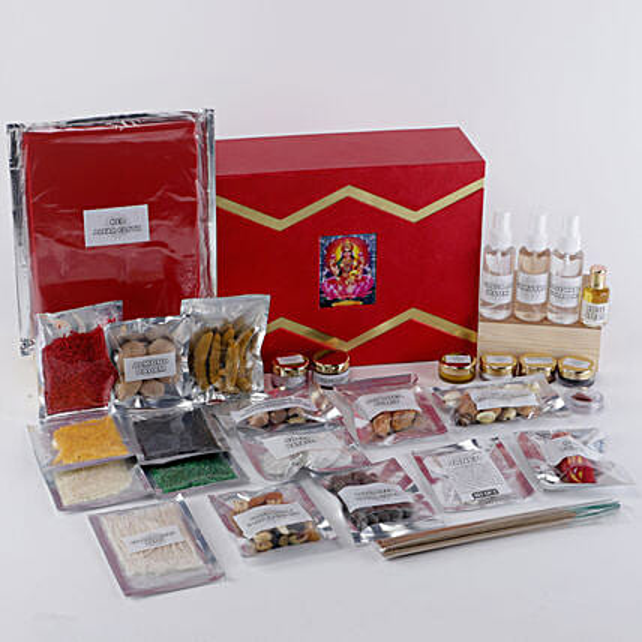 Margashirsha Lakshmi Puja Box:Pooja Boxes
