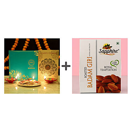 Sweet Diwali Greetings Hamper n Dry Fruit