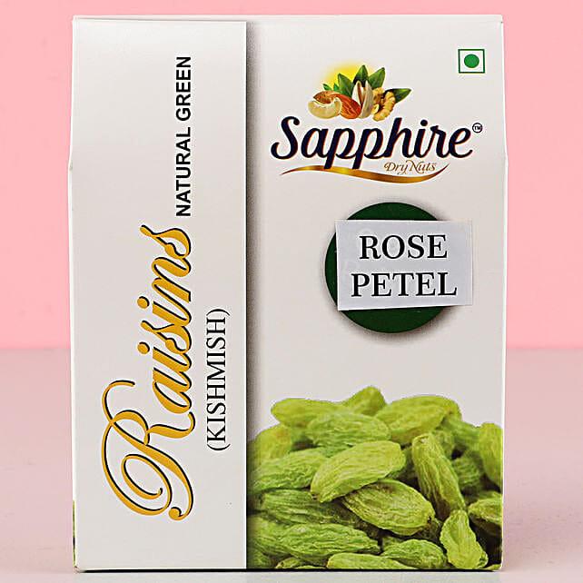 Rose Petal Raisins Pack