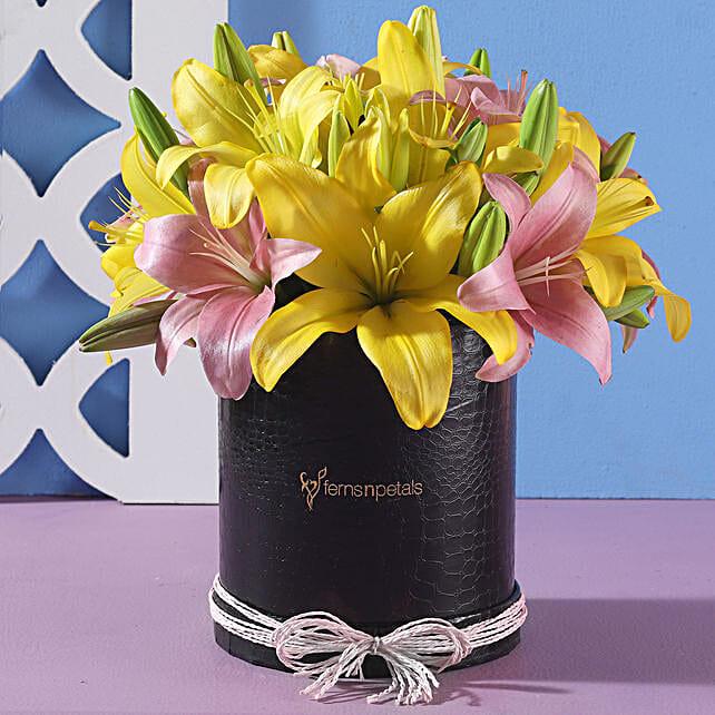 Colourful Flower Arrangement Online:Deepavali Flowers
