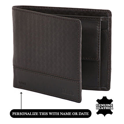 Online Brown Bi-Fold Wallet For Men