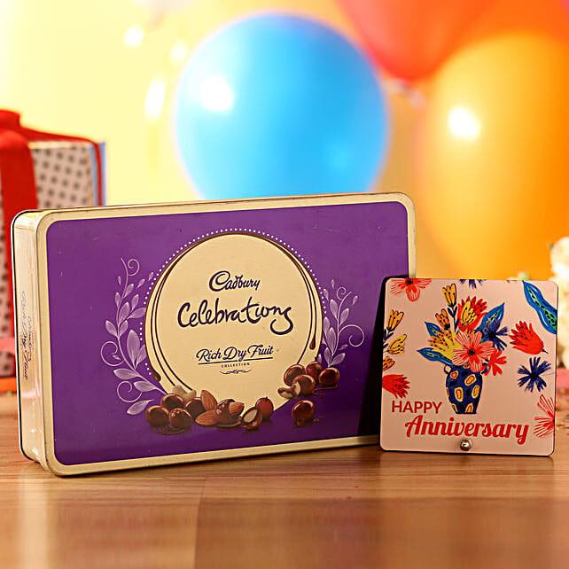 Anniversary Table Top & Cadbury Dry Fruits