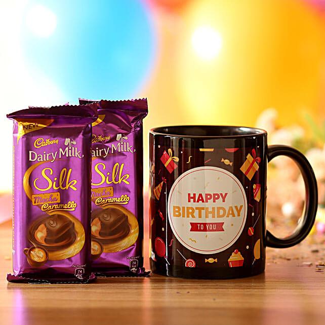 Birthday Mug & Mocha Caramello Chocolate