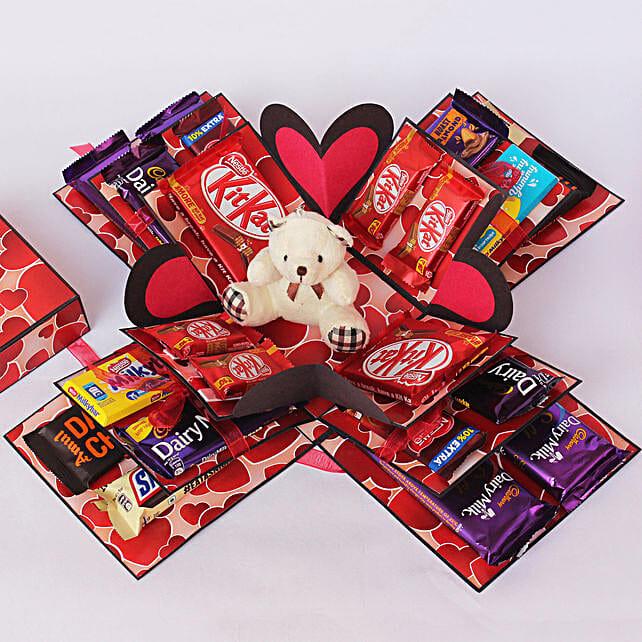 handmade box online:White Chocolates