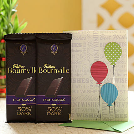 Chocolate and Greeting Combo Online