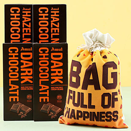Amul Chocolates Happiness
