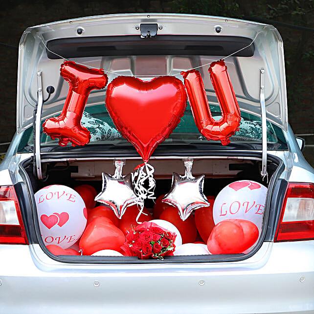 Romantic Car Boot Decoration