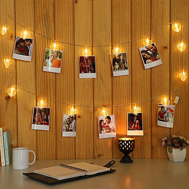 Polaroid Photos LED String White Lights