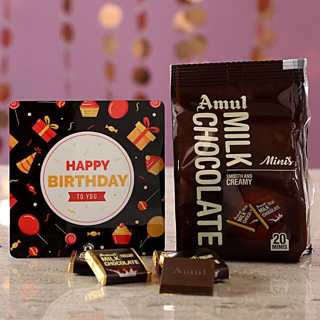 Birthday Greetings With Amul Milk Minis