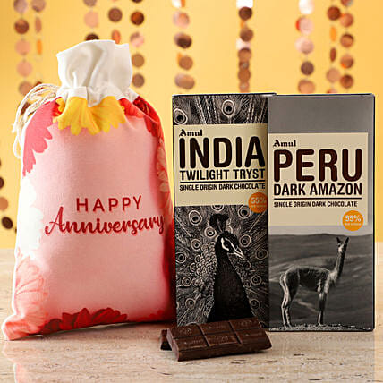Online Amul Chocolates For Anniversary