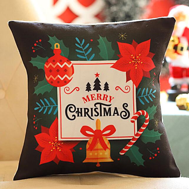 Colourful Christmas Cushion Online