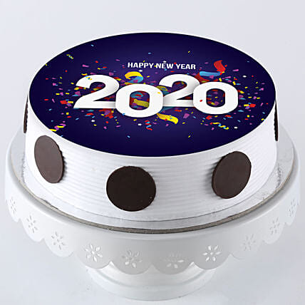 Printed new year cake online