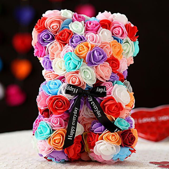 Foam Teddy Bear- Multicoloured