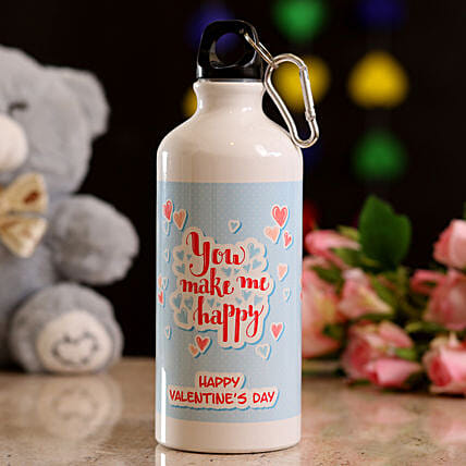 special  message printed water bottle