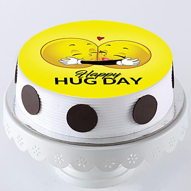 Photo cake for hug day online