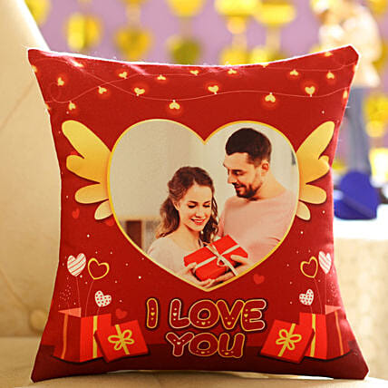 Romantic Personalised Cushion For Valentines Day